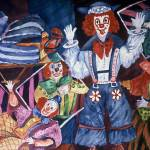 """Clown Jamborie by Sonya P."" by flowerswithfeelings"
