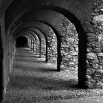 """Salces Arches in Black and White"" by jbrett"