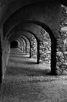 Salces Arches in Black and White