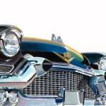 """BLACK CADILLAC ELDORADO LARGE"" by motornstuffart"
