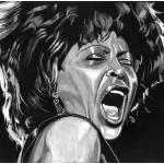 """Tina Turner LARGE"" by motornstuffart"