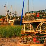 """Cape Cod Rock Harbor Sunset Orleans, MA"" by dapixara"