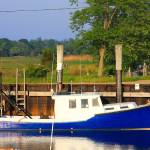 """Cape Cod orleans Rock Harbor Blue"" by dapixara"