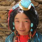 """turquoise girl"" by tibet"