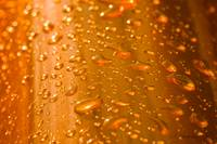 Orange Droplets