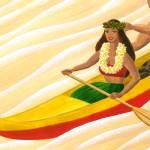 """canoe_riders"" by cocomasuda"