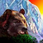 """Mountain bear"" by Pauljs"