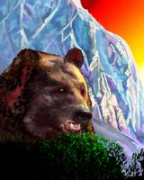 Mountain bear