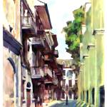 """Pirates alley pastel"" by Pauljs"