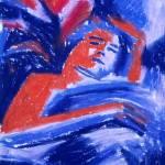 """""""Melissa Dreaming (study)"""" by sondrasula"""