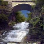 """September Scholar in Cascadilla Gorge"" by MichaelStephenWills"