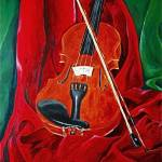 """Red Violin"" by tintedcanvas"