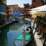 """Burano Waterside Cafes"" by DonnaCorless"