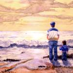 """Sunset with Grandpa"" by sboyle"