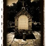 """Old Biloxi Cemetery Cuevas Crypt"" by AtomicCerebellum"