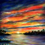 """Blue Sunset"" by AveHurley"