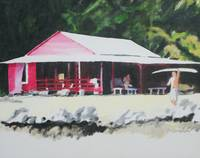surfs up  - the red house -Pohoiki