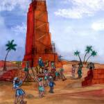 """Bible Story: Tower of Babel"" by SherryHolderHunt"