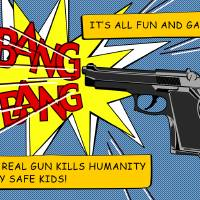 play safe kids Art Prints & Posters by Pixel Protest