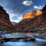 """Grand Canyon Rafting sunset"" by robertwalkerphotography"