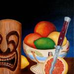 """grapefruit with italian switchblade"" by tikiking"