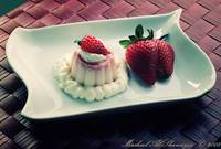 Strawberry Cheesecake Flan