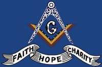 Faith Hope and Charity Banner