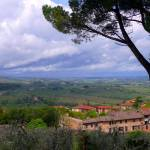 """View from San Gimignano 3"" by gbensonart"