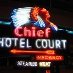 """Chief Hotel, September 2005"" by wonderfulworld"