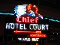Chief Hotel, September 2005