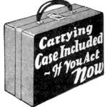 """Carrying Case Included -- 1931 illustration"" by arcaniumantiques"