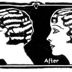 """Before and After -- 1931 ad (artist unknown)"" by arcaniumantiques"