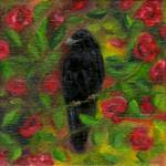 """Raven in Roses"" by FTMcKinstry"