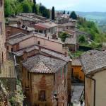 """Montepulciano Rooftops"" by gbensonart"