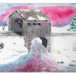 """Snowy Bridge"" by SherryHolderHunt"