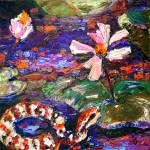 """""""Copperhead Snake in the Okefenokee Painting"""" by GinetteCallaway"""