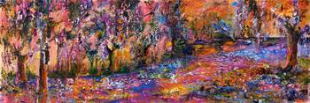 Panoramic Okefenokee Magic Oil Painting by Ginette