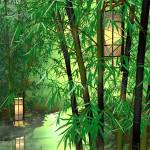 """Bamboo and Lanterns"" by jbmamay"
