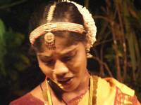 Keralan woman dances