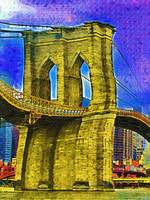 Brooklyn Bridge Fauvist DSC02412