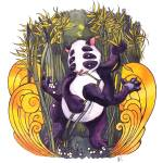 """Bamboo God"" by kellypatton"