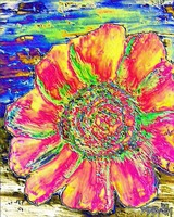 oil sunflower painting 6