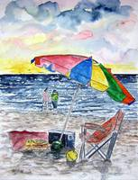 clearwater florida beach painting