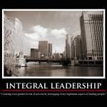 """Integral Leadership Print"" by timwarneka"