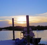 Airboat Sunset