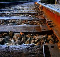 Ride me down rusty rails