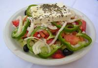 Small Garden Salad in Crete