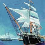 """Tallship Star of India San Diego"" by BeaconArtWorksCorporation"