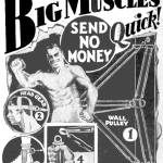 """Big Muscles Quick! -- 1931 ad"" by arcaniumantiques"
