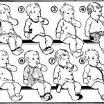"""8 Babies, 1931 ad, artist unattributed"" by arcaniumantiques"